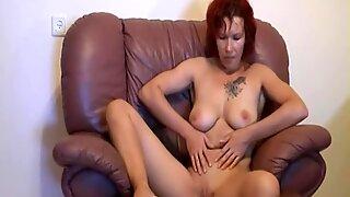 Redhead Amateur Mature Woman Sucking And Fucking On Sofa