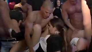 Bitches found tiny dick in club