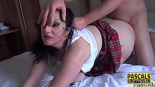 Bdsm mature slut fucked in the ass