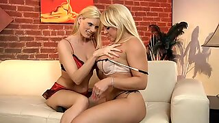 porn honeys Darryl and Alexis fires up together for a hot lesbian location