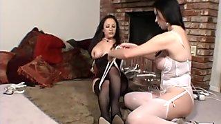 Busty milf Jewell Marceau submits to dominant Anastasia Pierce