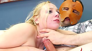 Gag on my cock while I beat your ass