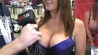 Gianna Lynn and Sophie Dee at Exxxotica NY