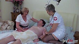 AgedLovE Naughty Nurses from Nasty Doctors Clinic