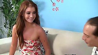 WANKZ- Fresh 18year old Ava Sparxxx 1st Porno