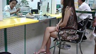 Sexy asiático piernas 2