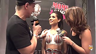 VITALY ZD AT AVN 2016 WITH JYNX MAZE AND ANYA IVY INTERVIEWS
