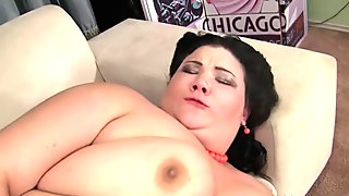 Fat bbw doggystyle fucked on all fours