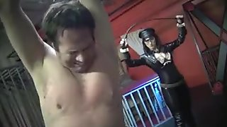 superb whipping from sexy uniformed mistress