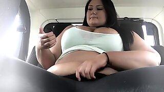 Public backseat masturbation