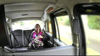 Fake Taxi Lady sucks cock for cab ride
