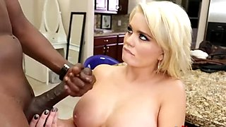 Busty blonde Alexis Ford gets boned by Lex's black dick