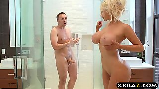 first-ever fellow girl gig of super stacked Nicolette Shea