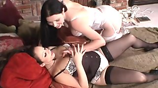 Outstanding lesbian show with Jewell Marceau and Anastasia Pierce
