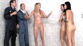 London's Shower Sex Extravaganza